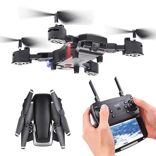 ZMM Drone con HD 1080p cámara Gyro Flotante FPV RC 5MP Plegable RC ...