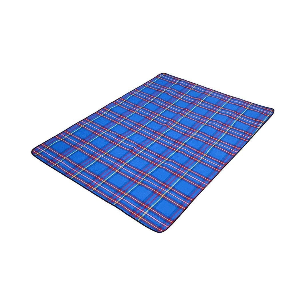 Tapis de Plage Pratique Tissu Oxford épais et Durable en Plein air, imperméable et résistant à l'humidité, Grand Tapis Tapis de Pique-Nique Pliant Doux et Confortable Pliable et portable