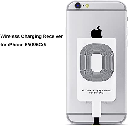 CHOETECH Ricevitore Qi iPhone, Ricevitore Caricabatterie