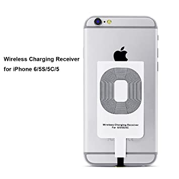 Qrity Qi Wireless Charger Receptor de Cargadores Qi para iPhone 6/5S/5C iPhone 6s 7 iPhone 8