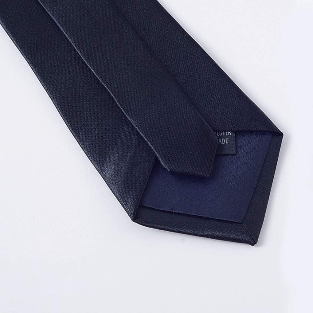 YXN Corbatas de Color Liso/Corbata de Trabajo/Boda, Novio, Padrino ...