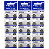 BlueDot Trading AG13 LR44 Button Cell Battery, 30 Count