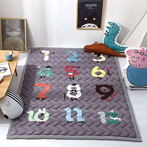 Cusphorn Digital Kids Rugs Antiskip Baby Crawl Mat Children
