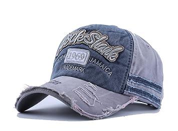 Vintage Baseball Cap Snapback Adjustable Sun Hat Visor Letter Embroidered  Trucker Hat Headwear for Outdoor Sports b960434af918