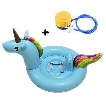 Amazon.com: Reglit - Anillo hinchable para bebé, flotador de ...