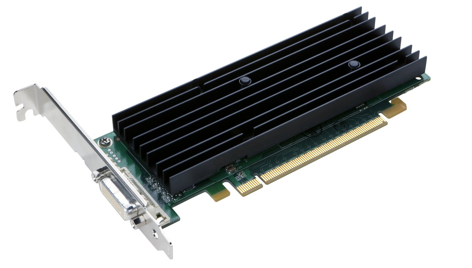 PNY NVIDIA Quadro NVS 290 by 256MB DDR2 PCI Express x16 DMS-59 to Dual DVI-I SL or VGA Profesional Business Graphics Board, VCQ290NVS-PCIEX16-PB