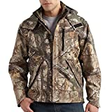 Carhartt Men's Big & Tall Camo Shoreline Jacket,Real Tree Extra,XXX-Large