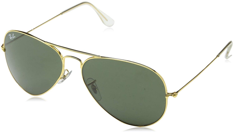 4dc0dd8968916 Ray-Ban UV protection Aviator unisex Sunglasses (L0205