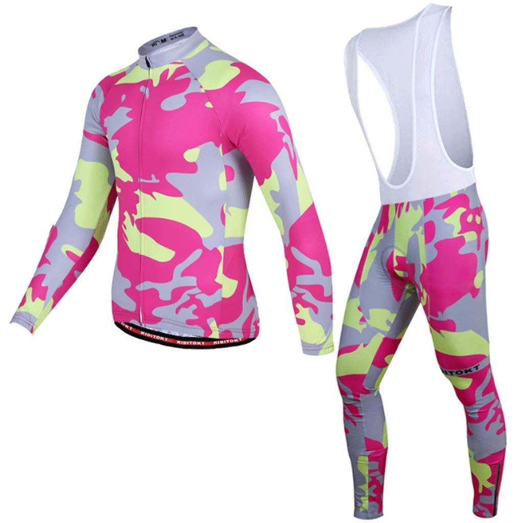 Lilongjiao Radfahren Sling Langarmanzug Frühling Und Herbst Fahrrad Reithose Ausrüstung Männer Und Frauen Reitanzug Outdoor Sportbekleidung