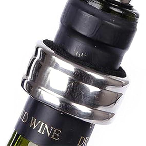 5 Stück / Satz ESOOR Wein-Zusatz-Geschenk-Satz - Wein-Flaschen ...