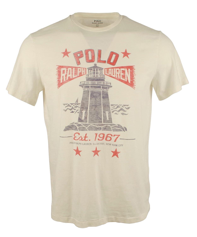 Polo Ralph Lauren Men 39 S Custom Fit Light House Graphic T