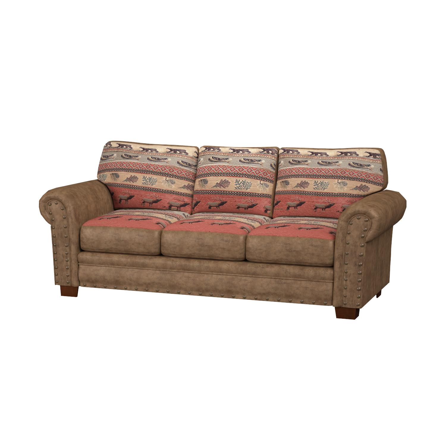 Amazon American Furniture Classics Sierra Lodge Sofa Kitchen