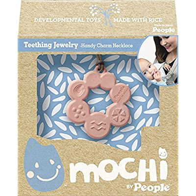 Mochi Handy Charm Necklace - Teething Necklace for Teething Babies and Kids: Toys & Games