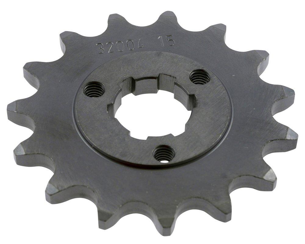 Pignone a 15 denti in acciaio 520er suddivisione (5/8 X 1/4) PW
