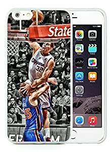New Custom Design Cover Case For iPhone 6 Plus 5.5 Inch LA Clippers Blake Griffin 1 White Phone Case