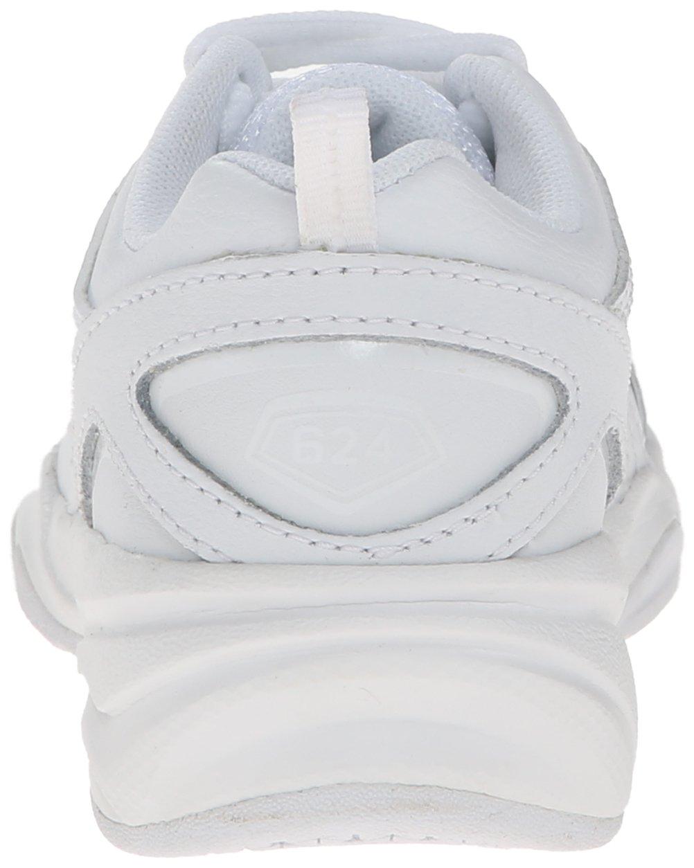 New Balance Boys KX624 Lace-Up Training Shoe ,White,13.5 M US Little Kid by New Balance (Image #2)