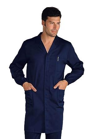 Isacco-Bata de Trabajo para Hombre, Color Azul: Amazon.es: Industria, empresas y ciencia