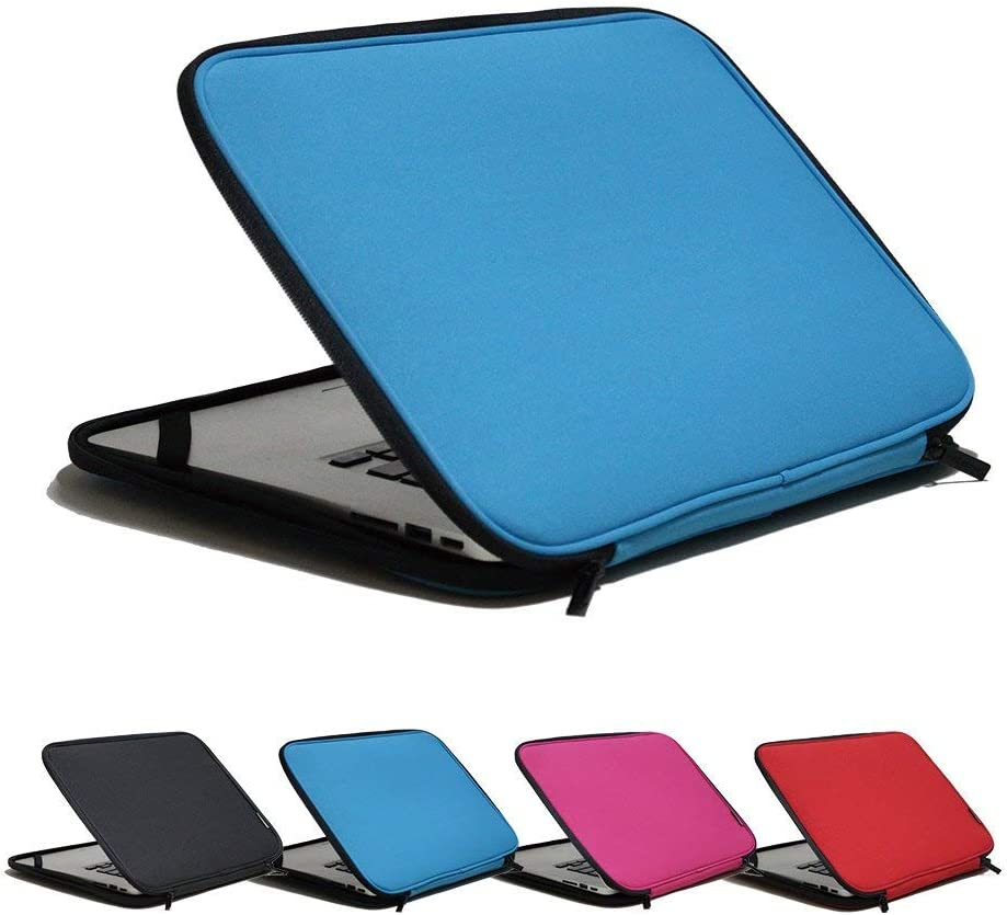 INNTZONE 15.6 Inch Stand-Type Laptop Sleeve case Bag Pouch Cover Notebook Carrying Case - Blue