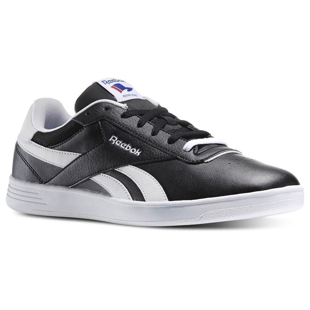 Reebok Herren Royal Slam Sneakers, Schwarz  38.5 EU|Schwarz