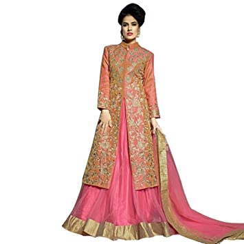 Bollywood Vestido Anarkali Shalwar Kameez Traje de Lehenga ...