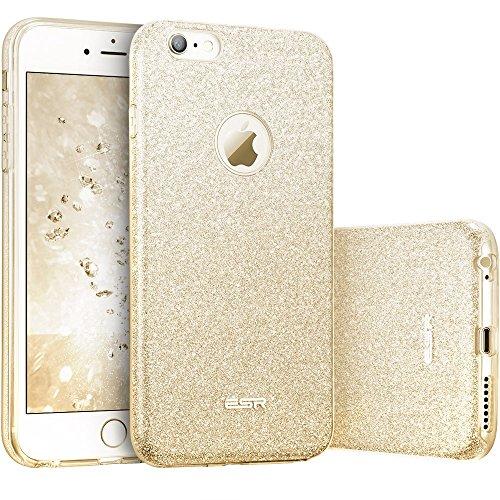ESR iPhone 6 Plus Case, iPhone 6S Plus Case, Luxury Glitter Sparkle Bling Designer Case [Slim Fit, Hard Back Cover] Shining Fashion Style for Apple iPhone 6 Plus/6s Plus 5.5