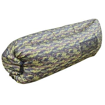 Inflatable Lounger Sofa Sleeping BagOUTAD Compression Air BedsPortable ChairAir Mattresses