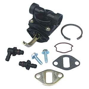 KIPA Fuel Pump For Kohler 1255902-S 1255901-S 1239303 1255901 12 559 02-S 12 559 01-S 12 393 03 CH CV 11-16 Hp Motor Craftsman LT1750 John Deere LX173 LT133 LX173 AM133627 Toro 74603 74702 74162 Mower