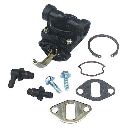 KIPA Fuel Pump For Kohler 1255902-S 1255901-S 1239303 1255901 12 559 02-S  12 559 01-S 12 393 03 CH CV 11-16 Hp Motor Craftsman LT1750 John Deere  LX173