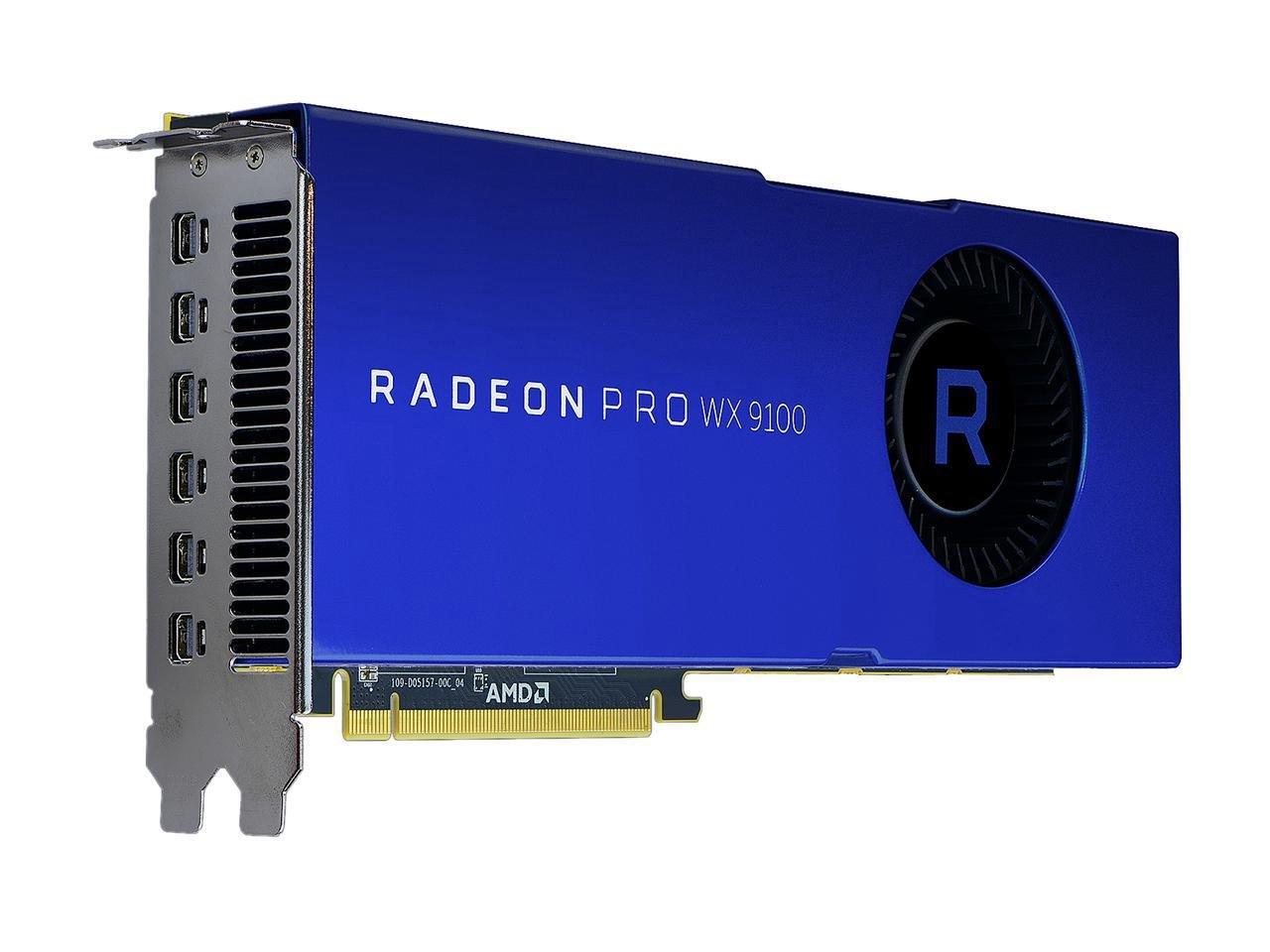 AMD Radeon Pro WX 9100 Graphic Card - 1.50 GHz Core - 16 GB