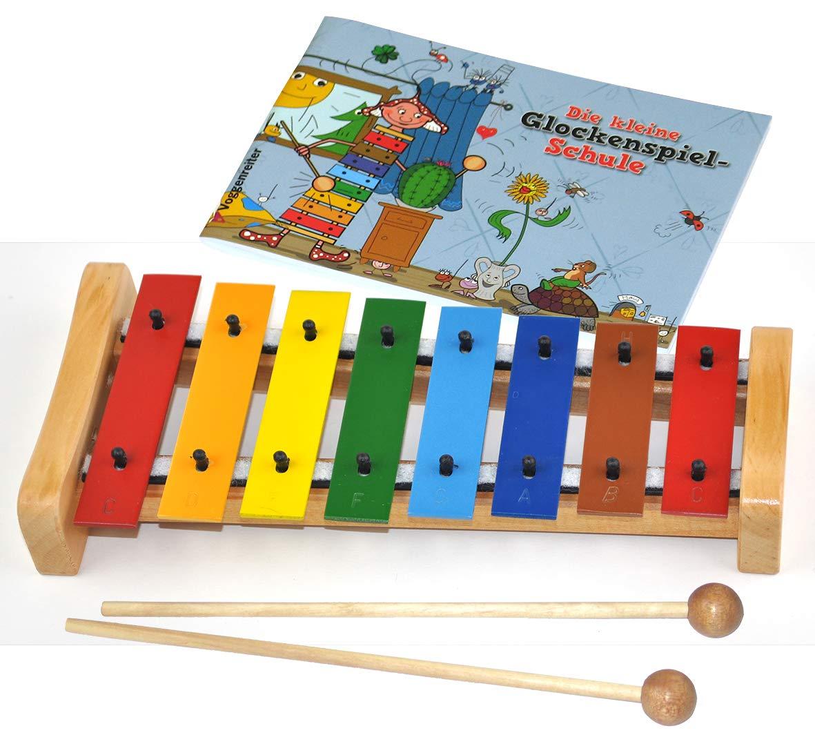 HABA Glockenspiel mit Klöppel Kinder Instrument Musik Kleinkind Spielzeug NEU Musik & Instrumente
