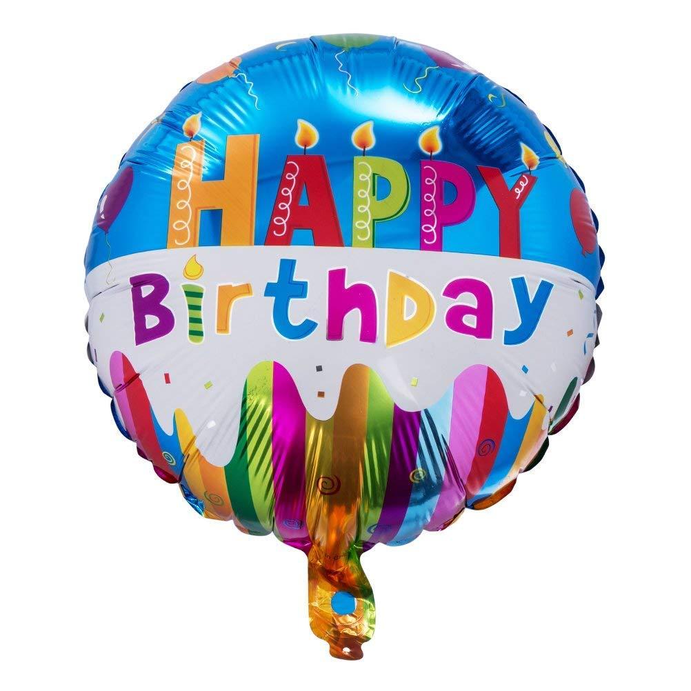 Happy Birthday Letter Foil Mylar Balloon 16 Silver Balloon 16 Silver Balloon MOWO