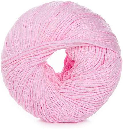 Shangwelluk - Juego de ovillos de lana para tejer de algodón suave ...
