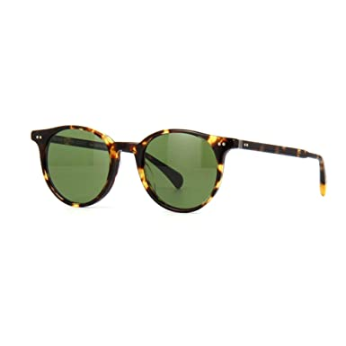 412dd71ad4a Amazon.com  Oliver Peoples Unisex Delray Sun VDTB Green C  Clothing