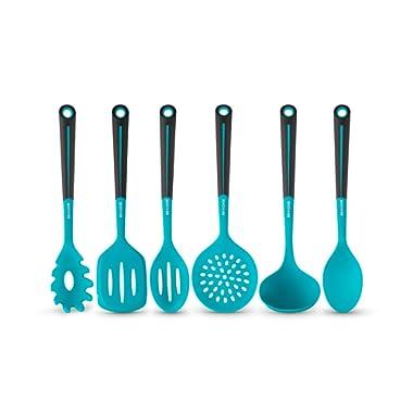 Basic Serveware For Stove Top - Art & Cook 6PC Silicone Kitchen Utensil Set