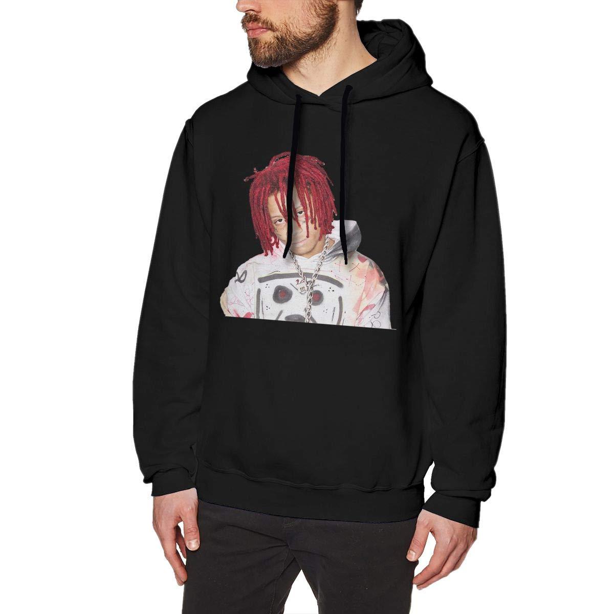 YUNY Mens Long-Sleeve Pullover Printing Leisure Hoodie Christmas Sweatshirt S