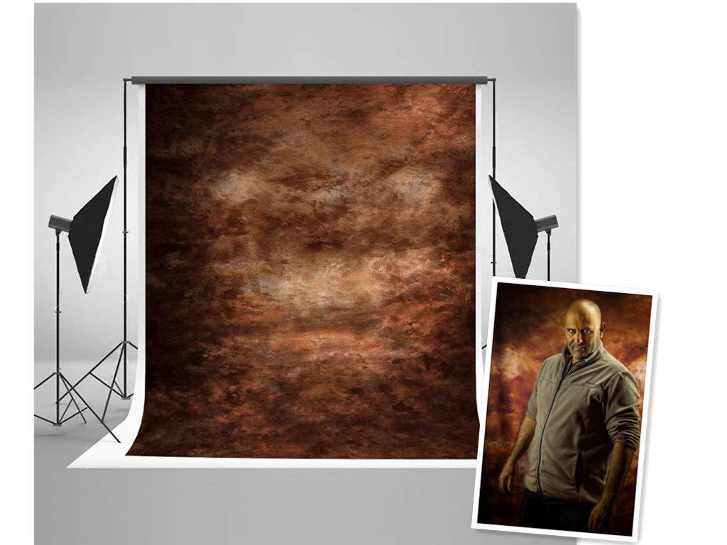 Kate 棉の材質 2x3m 背景布 撮影スタジオ用バックペーパー 薄暗い抽象的な背景ペーパーレトロスタイル   B078YT4ZX8