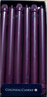 product image for Colonial Candle Orchid Purple 10 Inch Classics