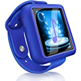 Mymahdi Sport Music Clip, 8GB Bluetooth MP3 Player with FM Radio/Voice Record Function,Touch Screen Player,Max Support…