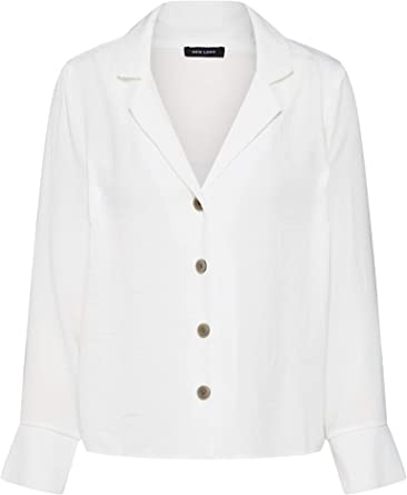 New Look Rupert Camisa, Marfil (Off White), 34 (Talla del ...