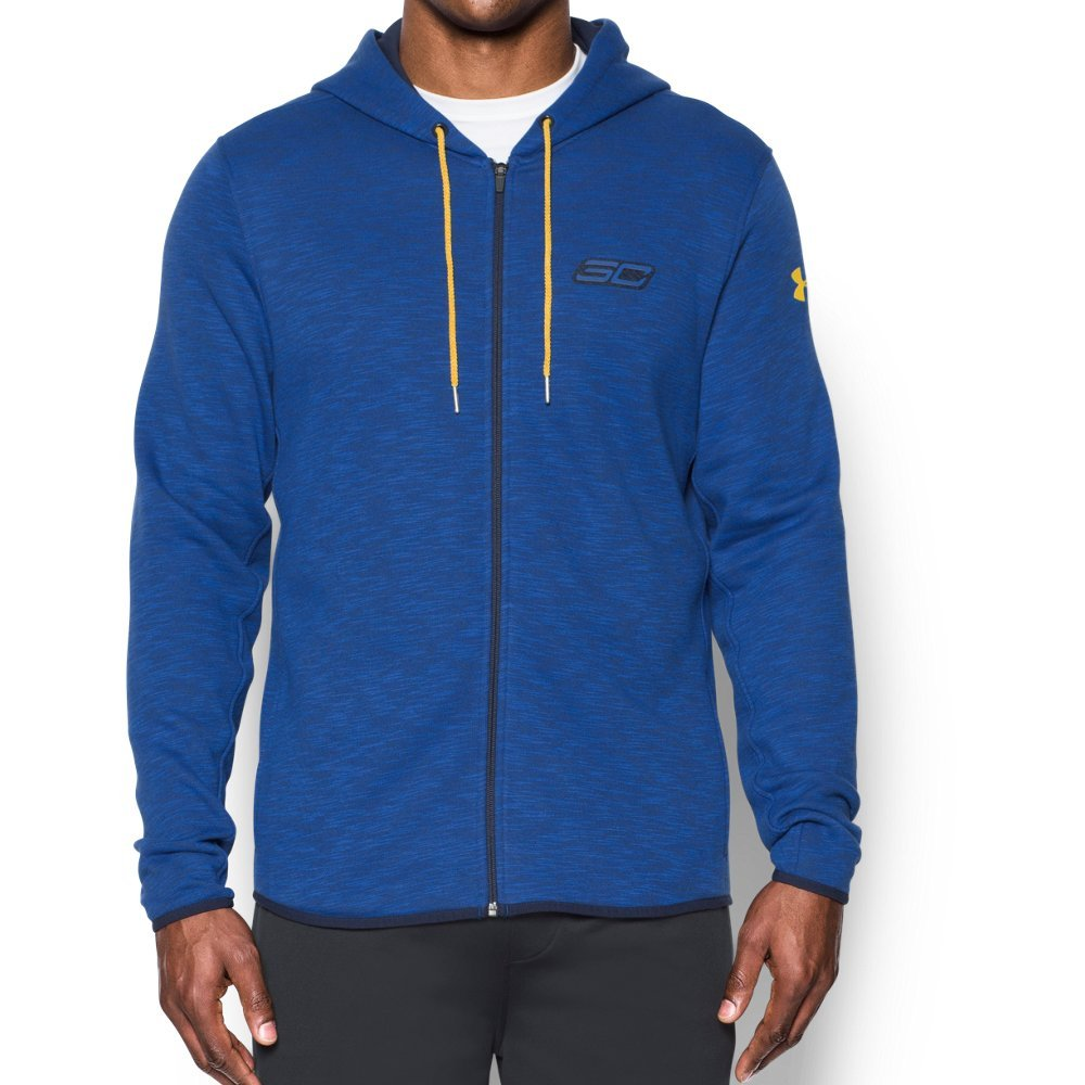 Under Armourメンズsc30 Essentials Full Zip Hoodie B01FHX9DSO  Royal/ Midnight Navy/ Taxi X-Large