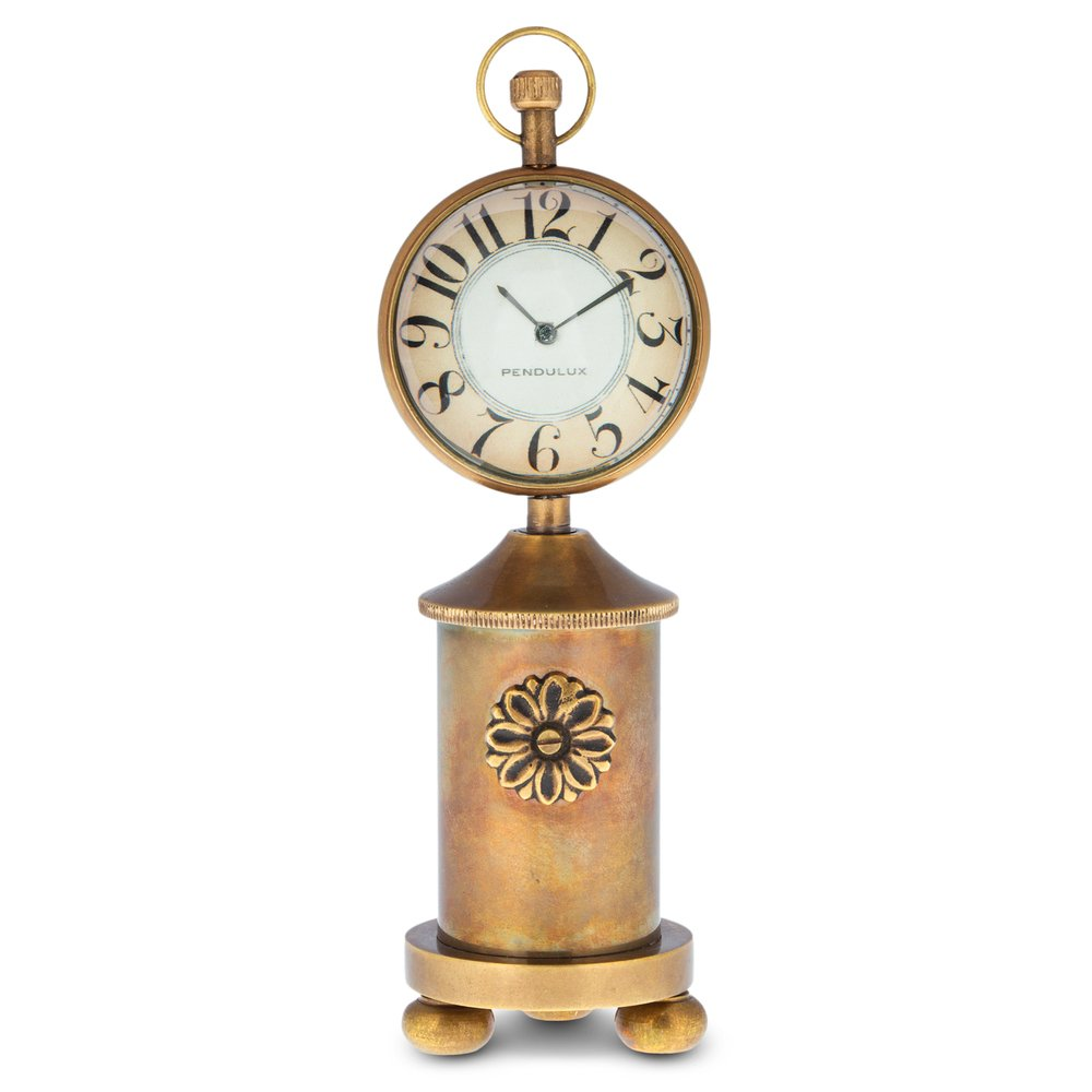 Pendulux Charlotte Table Clock, Decorative Bedside Table Clock