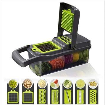 Amazon.com: Gunel - Mandolina 7 en 1 para frutas y verduras ...