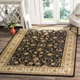 Cheap Safavieh Lyndhurst Collection LNH219A Traditional Oriental Black and Ivory Area Rug (8′ x 11′)