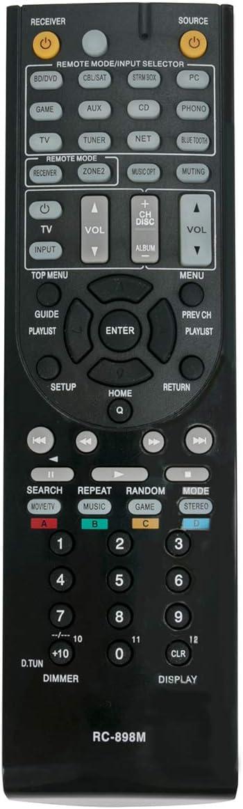 Control remoto RC-898M para Onkyo TX-NR646 TX-NR747
