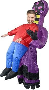 HKFV - Disfraz hinchable para carnaval, disfraz de ET, ropa ...