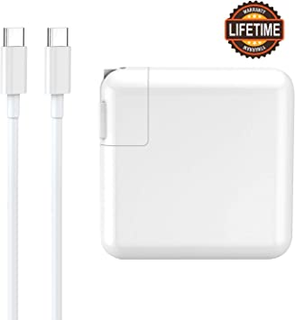 30W USB C Power Adapter, 30W USB Type C Wall Charger with Power Delivery, PD 3.0 for MacBook Pro/Air 2018, iPad Pro 2018, iPhone 11/XS/Max/XR/X/8/7, ...