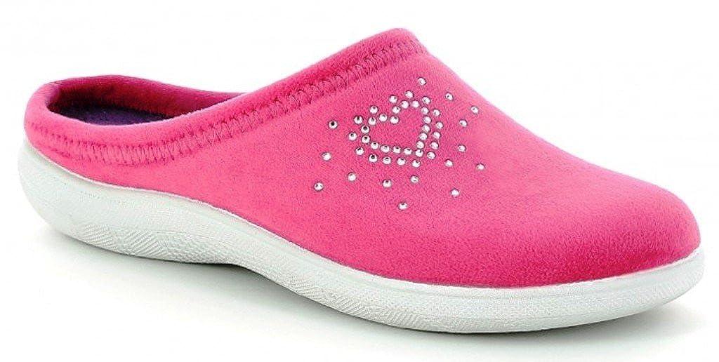 Inblu pantofole ciabatte BS-27 invernali da donna art. BS-27 ciabatte fuxia NUOVO fc3361