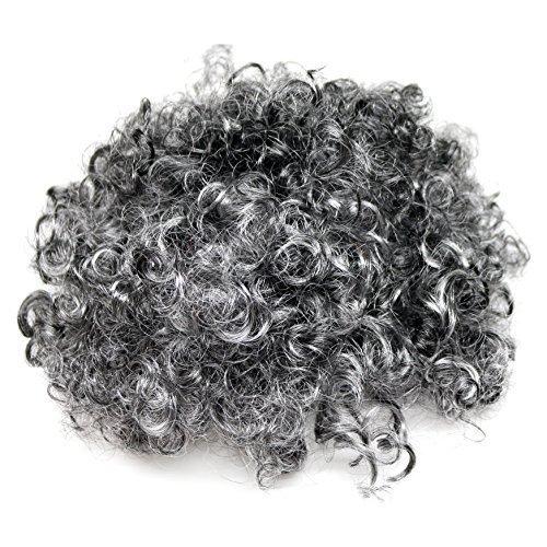 EBTOYS Granny Curly Wig Mrs Claus Fancy Dress