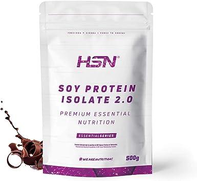 Proteína de Soja Aislada de HSN | Vegan Protein | Proteína Vegana con Stevia | Soy Protein Isolate | Sin Gluten, Sin Colesterol, Sin OMG, Sin Azúcar, ...