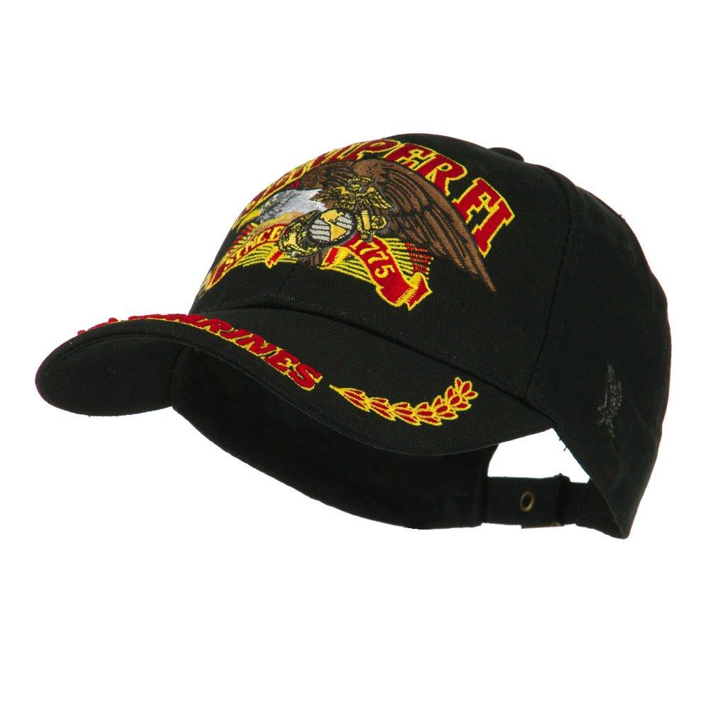 Amazon.com  U.S. Marines Semper Fi Embroidered Military Branch Emblem  Baseball Cap Black  Clothing 8999f8997bb0